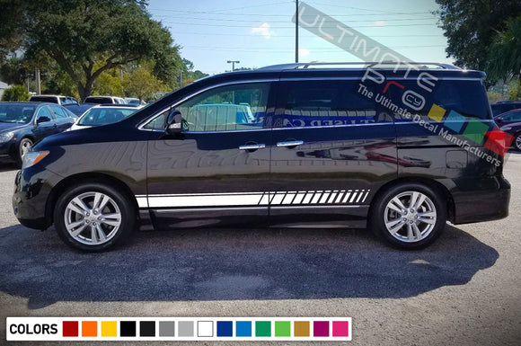 Decal Stripes Vinyl For Nissan Quest 2003-Present