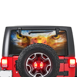 Eagle Eyes Perforated for Jeep Wrangler JL, JK decal 2007 - Present