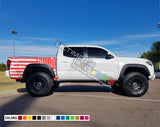 American Flag Decal Vinyl Bed Destorder US Flag Kit Toyota Tacoma
