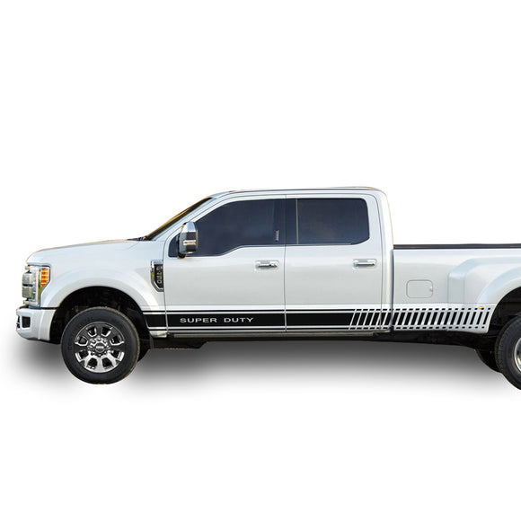 Decal Logo Graphic Vinyl Kit Compatible with Ford F450 2013-Present