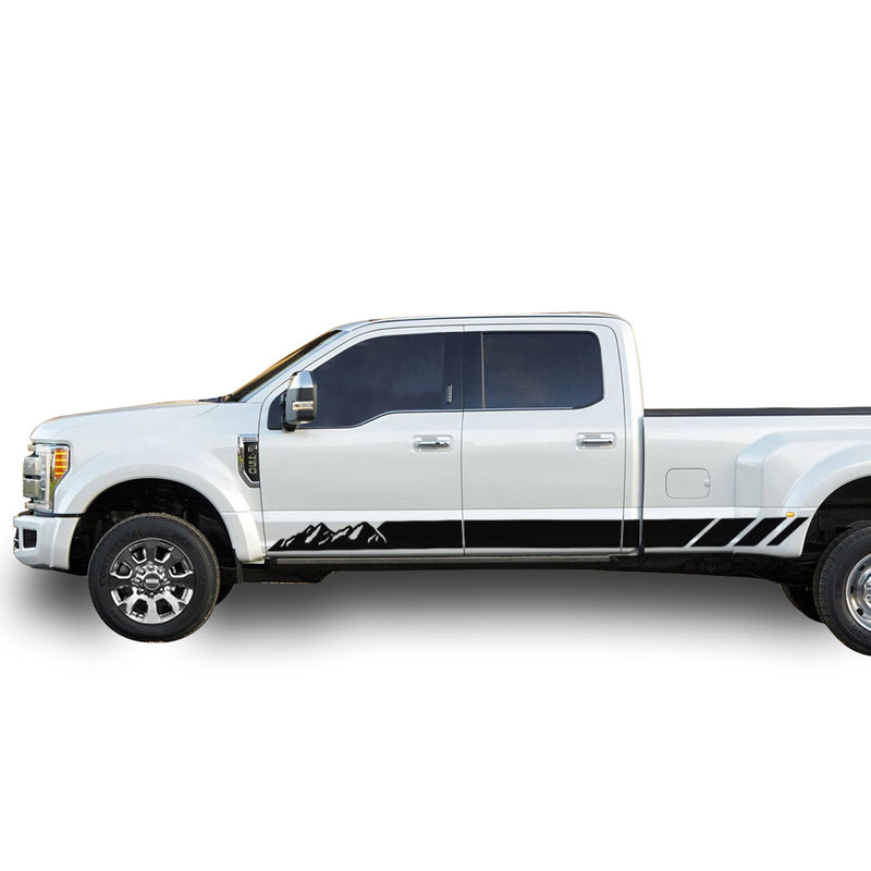 Decal Mountain Graphic Vinyl Kit Compatible with Ford F450 2013-Present