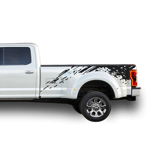 Decal Graphic Vinyl Kit Compatible with Ford F450 2013-Present