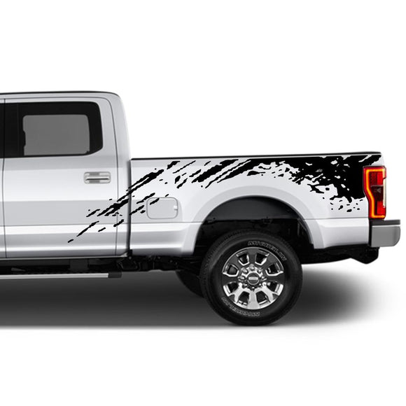 Decal Graphic Vinyl Kit Compatible with Ford F250 2013-Present