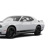 Side Stripes Decal Sticker Vinyl For Dodge challenger 2008 - Present