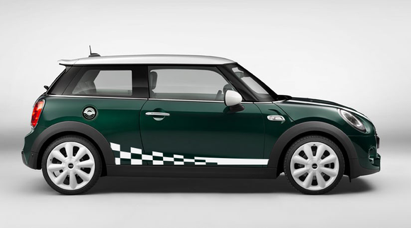 Kit Decal Sticker Graphic Compatible with Mini Cooper 2000-Present