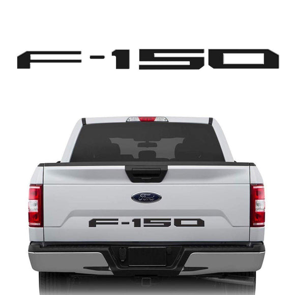 Decal Tailgate Letters Sticker Graphic Compatible with Ford F150 Series 2009-2017