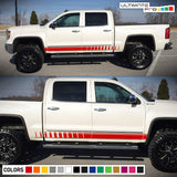 Decal Sticker Vinyl Side Stripe Kit Compatible with GMC Sierra