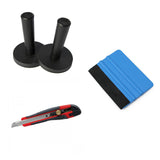 Set Tools Installation Magnets & Squeegee & Razor Blade