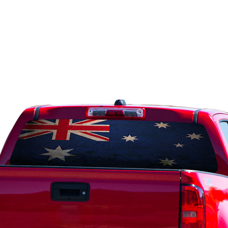 Australia Flag Perforated for Chevrolet Colorado decal 2015 - Present