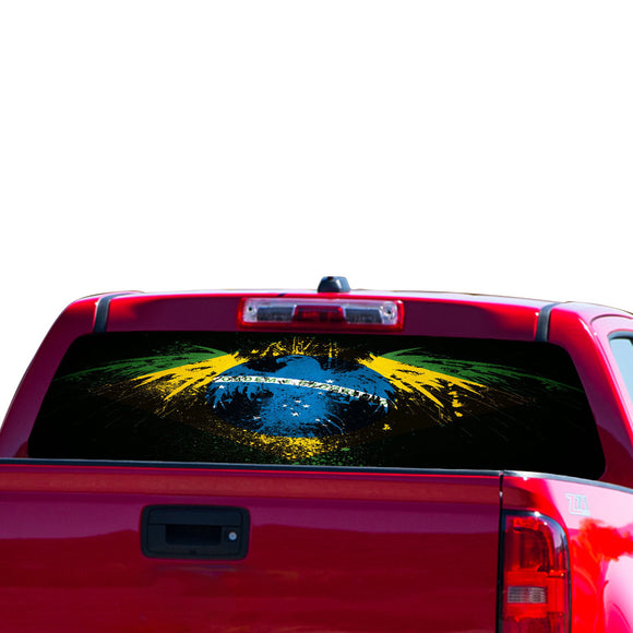 Brazil Eagle Perforated for Chevrolet Colorado decal 2015 - Present