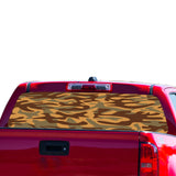 Army Brown Perforated for Chevrolet Colorado decal 2015 - Present