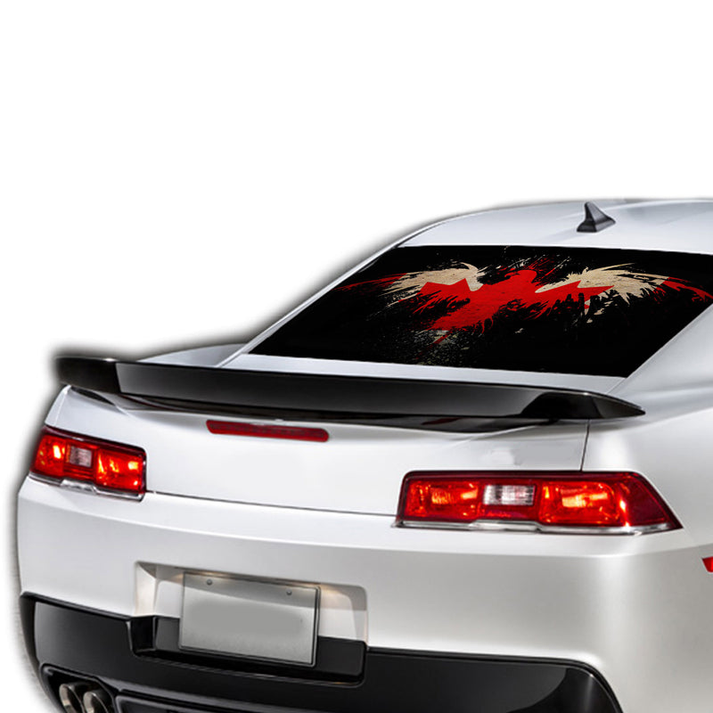 Canada Eagle Perforated for Chevrolet Camaro decal 2015 - Present