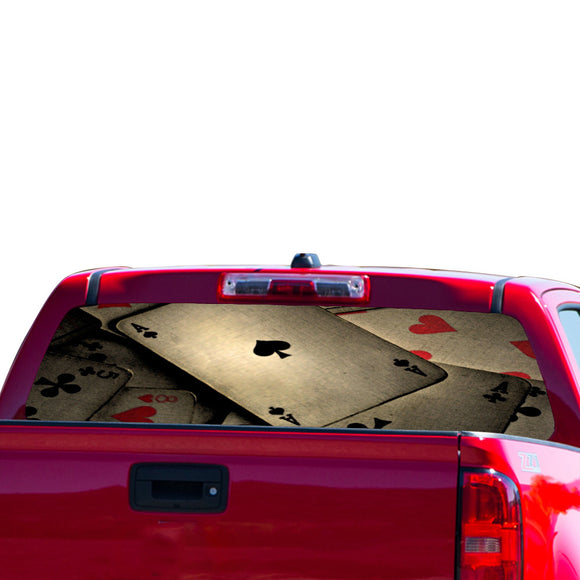 Play Cards Perforated for Chevrolet Colorado decal 2015 - Present