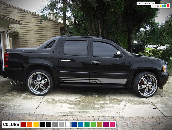 Sticker, vinyl design for Chevrolet Avalanche decal 2015 - Present