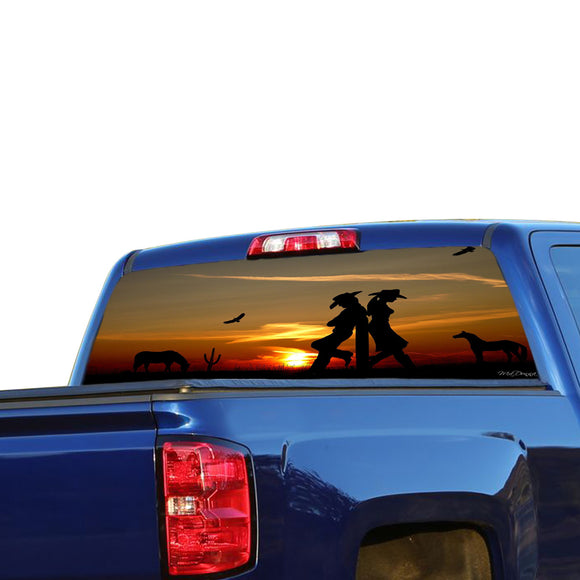 Country Girl Perforated for Chevrolet Silverado decal 2015 - Present