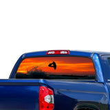 Surfing Perforated for Toyota Tundra decal 2007 - Present