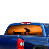 Hunting Perforated for Toyota Tundra decal 2007 - Present