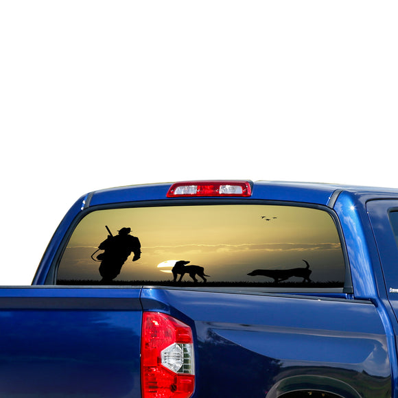 Hunting 3 Perforated for Toyota Tundra decal 2007 - Present