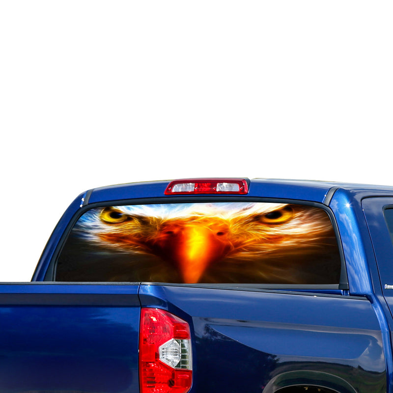 Eagle Eyes Perforated for Toyota Tundra decal 2007 - Present