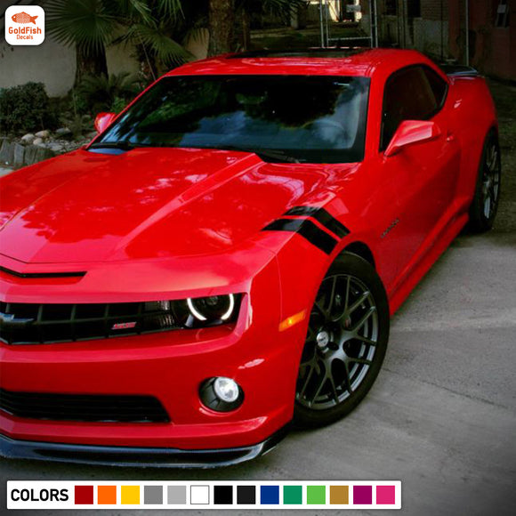 Fender sticker, vinyl design for Chevrolet Camaro decal 2012 - Present
