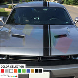 Decal Graphic Sticker Stripe Body Kit For Dodge Challenger 2008 - Present