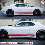 Side Stripes Decal Sticker Vinyl For Dodge challenger RT SRT8 2008 - Present