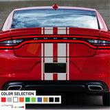Front to back Stripe Kit Decal For Dodge Charger SRT 2011 - Present