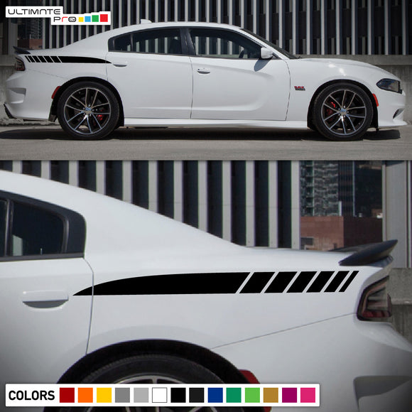 Rear Panel Sticker Decal Vinyl For Dodge Charger 2011 - Present