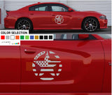 Side Door Star Kit Sticker Decal For Dodge Charger 2011 - Present