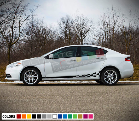 Stripes Decal Side Door Vinyl For Dodge Dart 2015 - Present