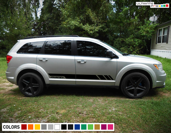 Decal Door Sticker Vinyl Stripe Kit For Dodge Journey 2009 - Present