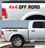 4x4 Off Road Sticker Rear Panel Stripe Dodge Ram 2009 - Present