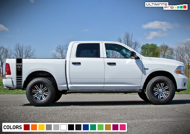 Rear Bed Decal Sticker Vinyl For Dodge Ram 2009 - Present