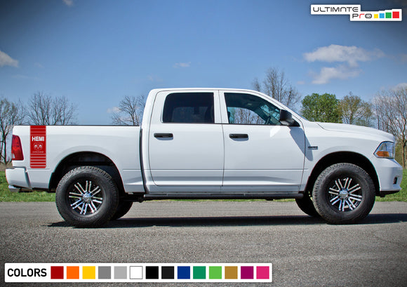 Rear Bed Ram Decal Sticker Vinyl For Dodge Ram 2009 - Present