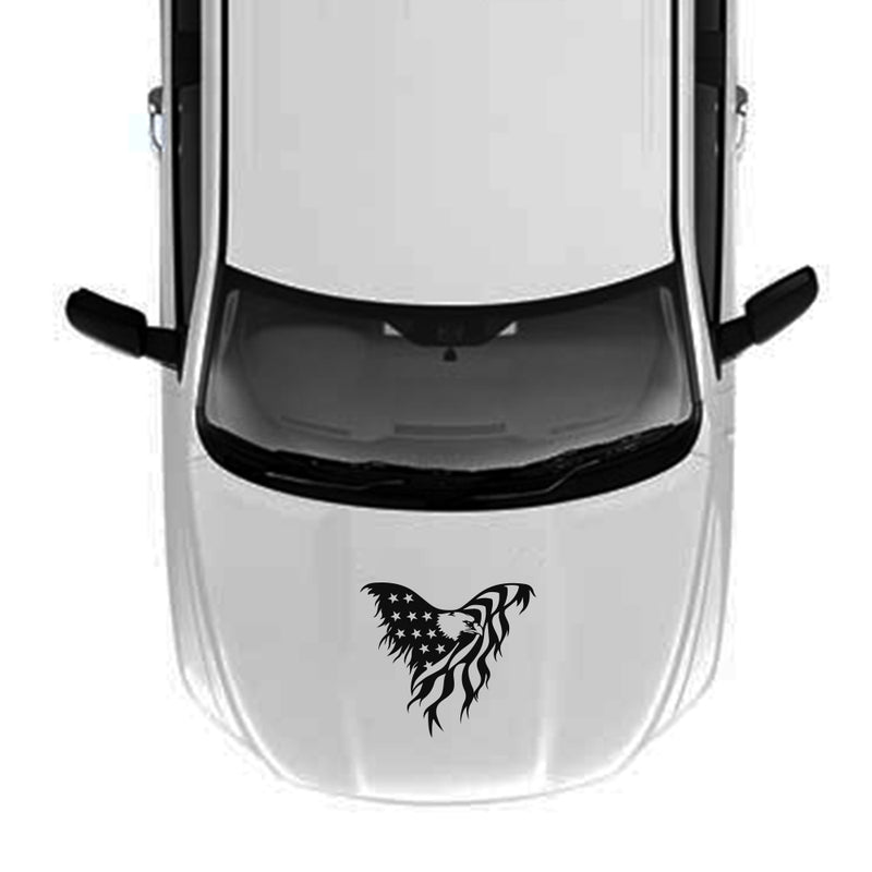 Hood USA Eagle 1 Decal Sticker Vinyl For Dodge Ram 2009 - Present