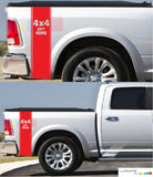 Decal Sticker Rear Panel Stripe For Dodge Ram 2009 - Present