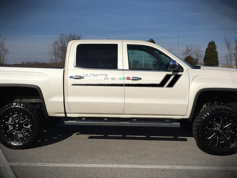 Decal Graphic Sticker GMC Sierra 2014-2017