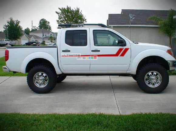 Decal Graphic Vinyl Side Nissan Frontier Navara 2004-2015