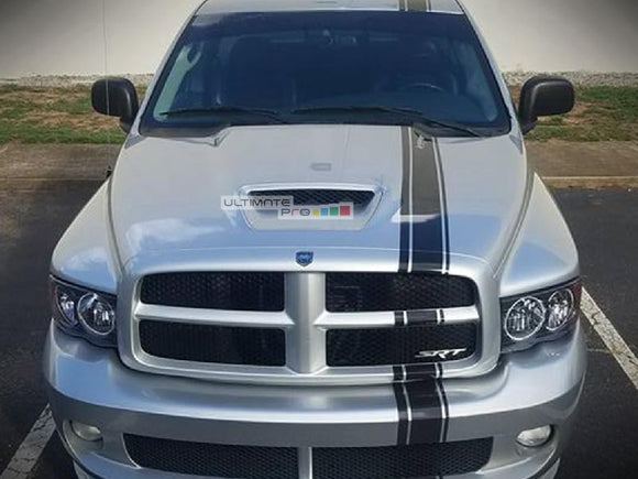 Decal Sticker Graphic Front to Back Stripe Kit Dodge Ram