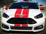 Decal Sticker Graphic Front to Back Stripe Kit Ford Focus ST RS 3rd Generation
