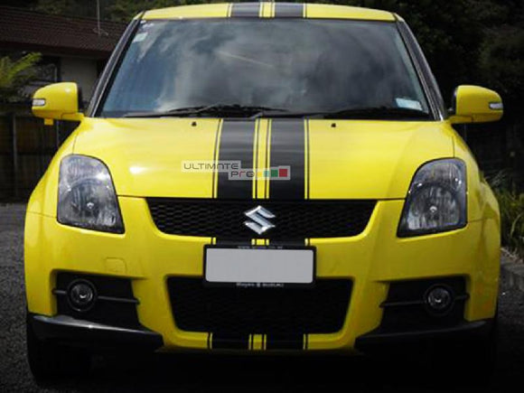 Decal Sticker Graphic Front to Back Stripe Kit Suzuki Swift