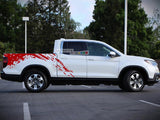 Decal Sticker Graphic Mud Kit Honda Ridgeline 2016-2017