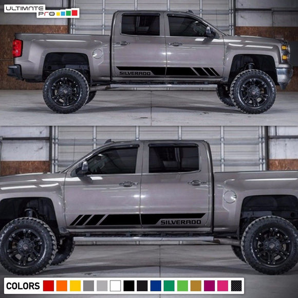 Decal sticker stripes kit For Chevrolet Silverado