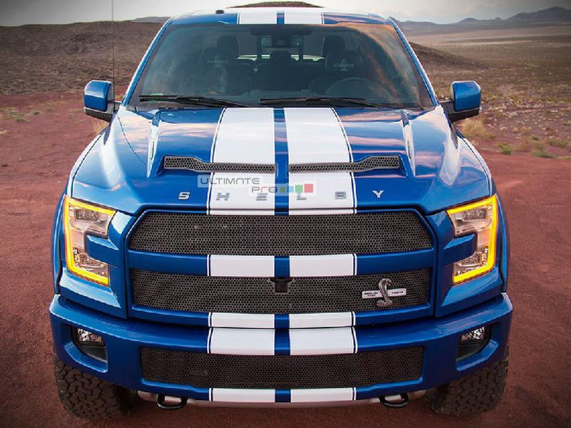 Decal Sticker Vinyl Body Racing Stripe Kit Ford F150 SVT Raptor Shelby