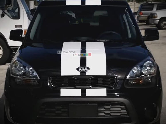 Decal Sticker Vinyl Body Racing Stripe Kit Kia Soul 2008-2016