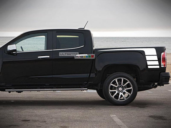Decal Sticker Vinyl Hockey Bed Stripes GMC Canyon 2014-2017