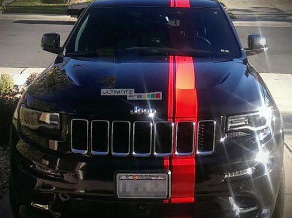 Decal Sticker Vinyl Offset Euro Racing Stripe Grand Cherokee SRT8