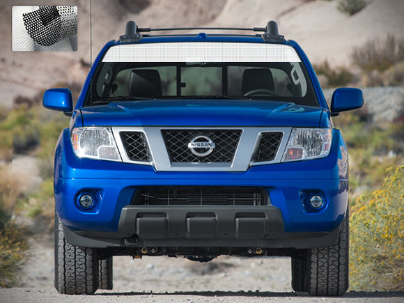 Decal Sticker Vinyl Windshield Banner Compatible with Nissan Frontier Navara 2004-Present