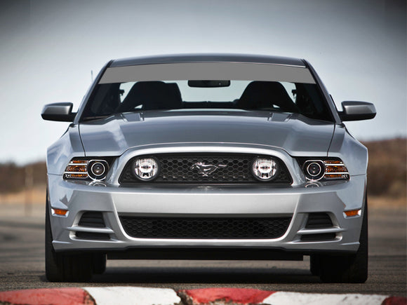 Decal Sticker Vinyl Windshield Banner Sun Visor Strip Ford Mustang
