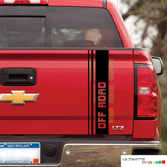 Decal sticker for Chevrolet Silverado rear gate tailgate GMC Sierra